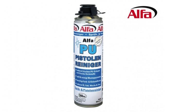Alfa Spray Gun Cleaner Removes Fresh Pu Foam Paint Oil Grease And Tar
