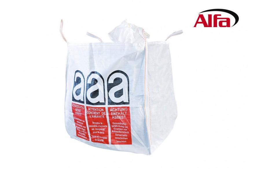 alfa big bag asbestos for the disposal of asbestos mineral fibres